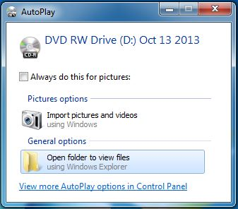 Blastware CD Autoplay