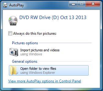 Blastware CD Autoplay