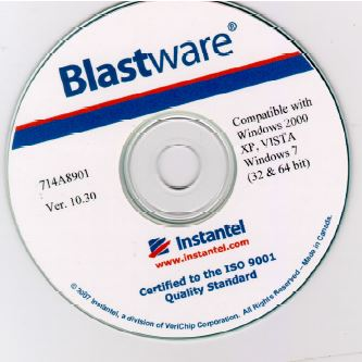 Blastware Software CD