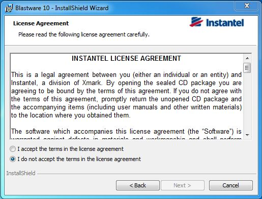 Instantel License Agreement