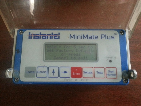 MiniMate Plus Final Factory Settings Menu