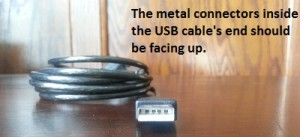 USB Cable End