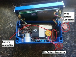 ground vibration monitor battery care