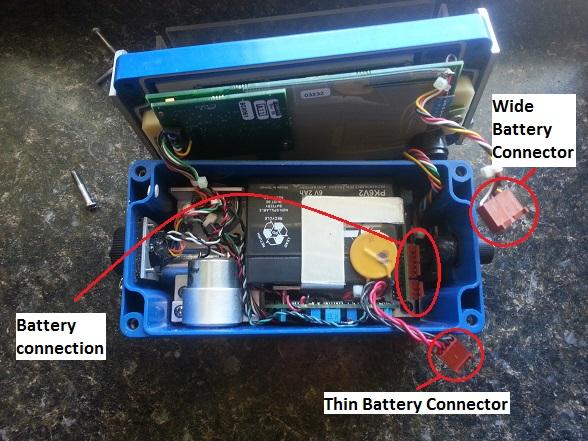 Minimate Plus Battery Connection Diagram