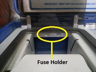 Blastmate III Fuse Holder