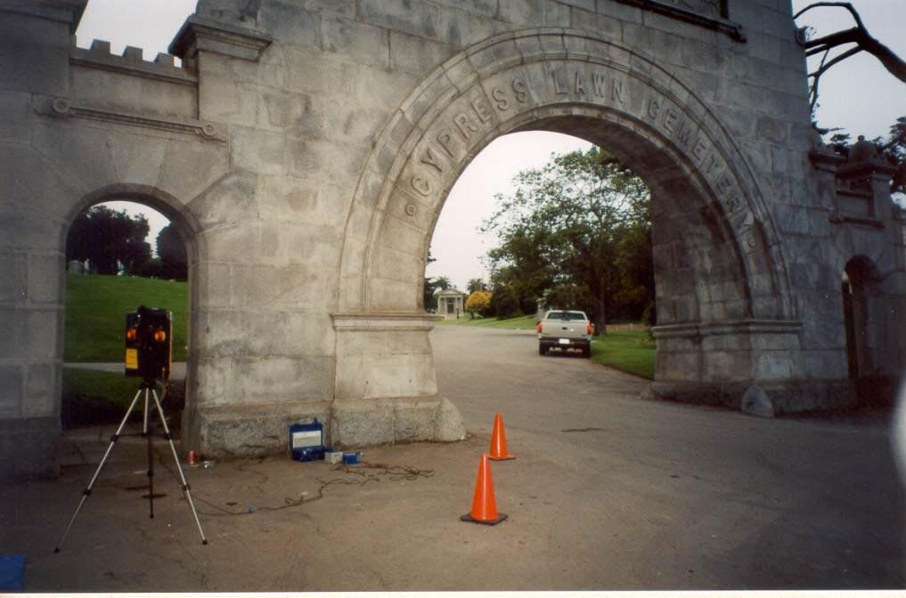 NCHRP Figure 3. Cypress Lawn Cemetery Grand Gateway