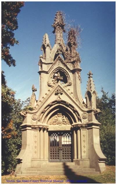 NCHRP Figure 4-Cypress Lawn Cemetery de la Montaña Mausoleum